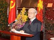 越共十二届政治局委员分工及具体职务