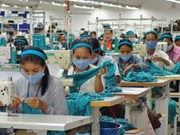 2015年柬埔寨的纺织品服装和鞋类出口成果丰硕