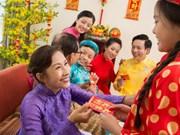 越南人春节派红包习俗