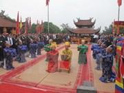 富寿省致力维护与弘扬雄王庙历史遗迹区价值