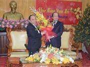 阮春福副总理向河南省党部和人民拜年