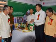 越南产的商品在老挝树立品牌形象