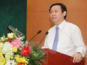 越共中央经济部部长王廷惠:发展银行为国家繁荣发展做出贡献