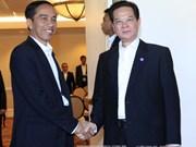 阮晋勇总理会见印尼总统佐科•维多多