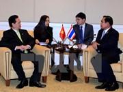 越南政府总理阮晋勇会见泰国总理巴育