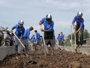 越南政府总理颁发落实越南青年发展战略的指示令