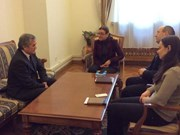 越南驻乌大使与乌国家安全局代表会面商讨莲村搜查案