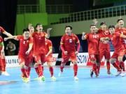 2016年亚洲五人制足球锦标赛:越南队点球大战击败日本队晋级四强