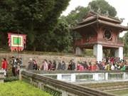 2016年春节期间河内市吸引逾4.6万人次前来参观