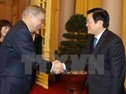 越南国家主席张晋创会见日本群马县代表团