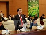 越南国会常委会就国家主席2011~2016年任期工作总结报告草案提出意见
