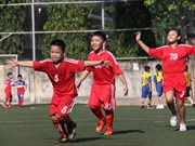 挪威协助越南承天顺化省发展社会足球