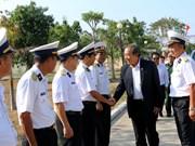 越南最高人民法院院长张和平莅临坚江省富国县调研