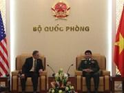 武文俊上将接见美国陆军高级战略领导研究计划学员代表团