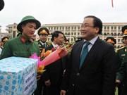 河内市委书记黄忠海:集中精力促进巴为县经济社会发展