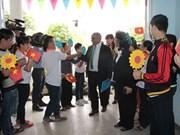 联合国儿童基金会驻越办事处将向越南橙毒剂儿童受害者提供更多援助