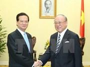 越南政府总理阮晋勇会见日越友好议员联盟特别顾问