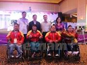 越南运动员在2016年世界残疾人举重锦标赛夺得两枚金牌