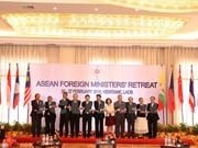 东盟外长非正式会议在万象正式开幕