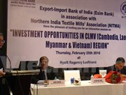 越南呼吁印度纺织服装企业加大对越投资力度
