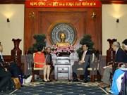 胡志明市市委书记丁罗升:胡志明市一向为投资者提供最优越条件