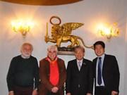 意大利威尼斯市优先与越南加强文化和旅游领域的合作