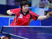 2016年世界乒乓球团体锦标赛:越南女子队取得二连胜