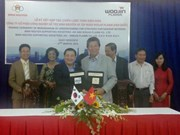 越韩企业合作发展高科技辅助工业