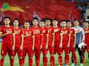 FIFA最新排名:越南国家男足队仍居世界第146位