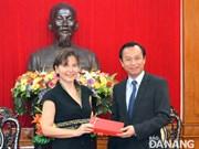 越南岘港市与意大利加强经济合作