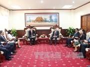 老挝领导人高度评价越南最高人民检察院所提供的帮助