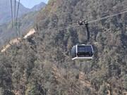 番西邦-沙坝缆车系统共为4万多人次提供服务