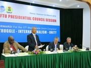 世界工联主席理事会会议在河内召开