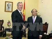 越南政府副总理阮春福会见美国和澳大利亚驻越大使