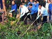 """""""绿色周日""""活动在胡志明市举行"""