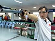 步手枪世界杯 越南选手黄春荣获得铜牌