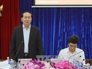 陈大光大将:西原地区要采取配套措施 做好防旱抗旱工作