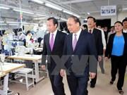 越南政府副总理阮春福莅临岘港市调研