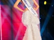 越南佳丽陈玉兰奎入选国际选美大赛50名佳丽名单
