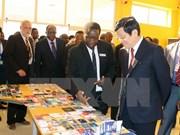 越南国家主席张晋创圆满结束对坦桑尼亚的国事访问