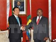 越南与莫桑比克发表联合公报
