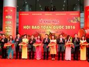 首次举行的越南全国刊物展正式开幕
