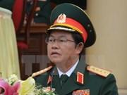 越南人民军总参谋长杜伯巳大将与赴老出席ACDFIM-13的各国团长举行双边会晤