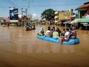 印尼洪水泛滥 3000多人流离失所