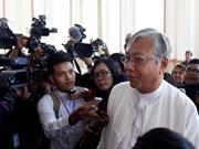缅甸议会投票选举总统吴廷觉当选
