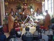 法国洭越寺为越南烈士们举行超度法会