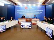 胡志明共青团中央书记处第一书记阮得荣与青年对话