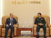 越南国防部长冯光青会见俄罗斯客人