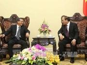 越南政府副总理阮春福会见日本和比利时驻越大使
