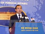 越南外交部发言人:越南对泰国增加湄公河蓄水量计划表示关切